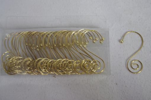 """Kugelaufhänger """"Spirale"""" gold"""