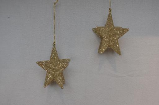 3-D-Stern  gold